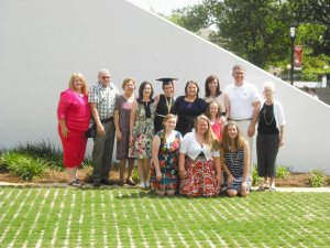group grad photo